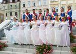 Zespół podczas Światowego Festiwalu Polonijnych Zespołów Folklorystycznych w Rzeszowie (lipiec 2008 r.). Fot. archiwum
