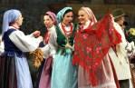 """""""Kiermasz Wileński"""" — to nie tylko śpiew, taniec, to też handel Fot. Marian Paluszkiewicz"""