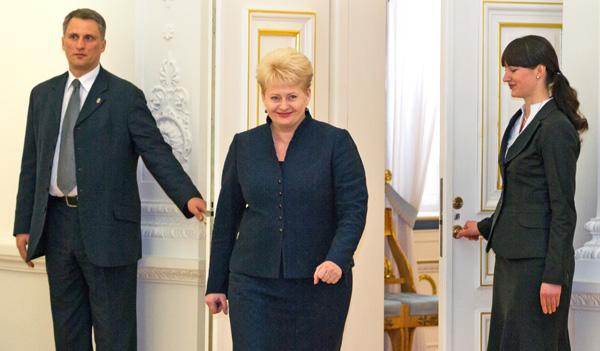"""Grybauskaitė mówi Warszawie — """"nie"""""""