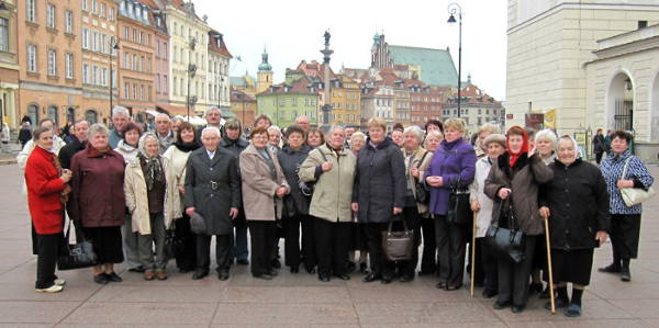 Turgielscy seniorzy gościli w Polsce