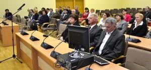 Podczas wizyty mówiono o najważniejszych realizowanych obecnie projektach oświatowych