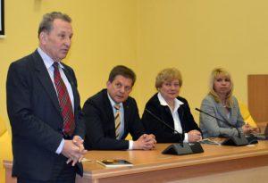Wicemer Jan Gabriel Mincewicz powitał gości z rejonu solecznickiego