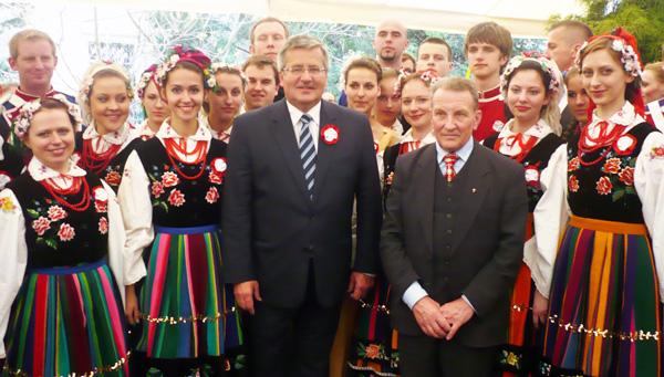 Ciesz się, Matko Polsko, z przybycia twych dzieci