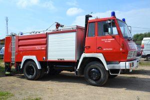 Wóz strażacki Steyr 791-TLF 4000 stacjonuje obecnie w Awiżeniach    Fot. archiwum ASRW