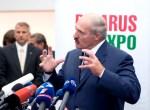 """Łukaszenka wygraża: """"Niech Litwa nie siedzi jak mysz pod miotłą"""" Fot. Marian Paluszkiewicz"""