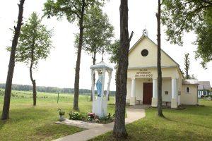 Kaplica w Gaju czeka na wiernych i ich modlitwy  Fot. Stanisław Karmyszow