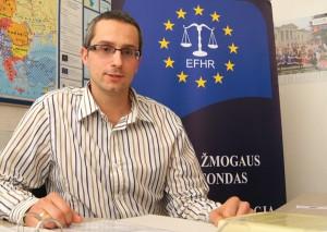 Ekspert EFHR dr Łukasz Wardyn   Fot. Marian Paluszkiewicz