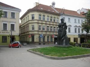 Ulica Niemiecka (Vokiečių) w Wilnie Fot. archiwum