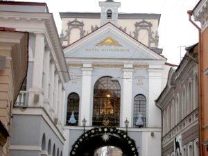 9 sierpnia, w najbliższy czwartek, będziemy spotykać Czarną Madonnę w Ostrej Bramie w Wilnie Fot. archiwum