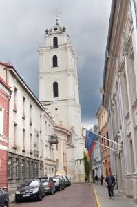 Kościół św. Janów w Wilnie Fot. Marian Paluszkiewicz