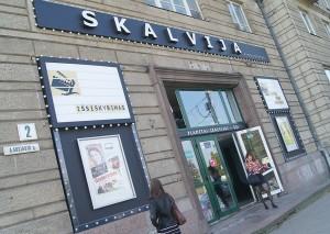 """""""Skalvija"""" jest najstarszym centrum kinowym w stolicy Fot. Marian Paluszkiewicz"""