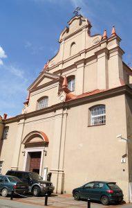 Kościół św. Ignacego w Wilnie  Fot. Marian Paluszkiewicz