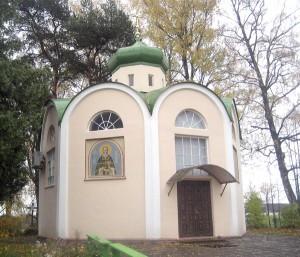 Kapliczka w Michnowie — miejsce pochówku ojca Pontija Fot. Marian Paluszkiewicz