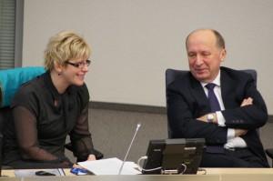 Rząd premiera Andriusa Kubiliusa chce obarczyć kosztami budowy terminalu wszystkich odbiorców teraz, płacąc składkę na budowęFot. Marian Paluszkiewicz