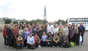 Pielgrzymi z gminy bezdańskiej w Częstochowie