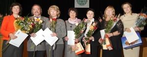 Nagrodzeni historycy Fot. Marian Paluszkiewicz