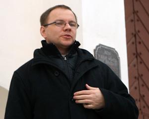 ks. Virginijus Česnulevičius Fot. Marian Paluszkiewicz