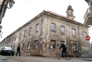 Na rogu ulic Sawicz i Bakszty w Wilnie był ich klasztor Fot. Marian Paluszkiewicz