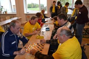 Niepełnosprawni rywalizowali w jedenastu dyscyplinach sportowych
