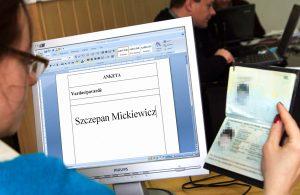 """Używanie liter nielitewskich, ale także kombinacja liter: """"rz"""", """"cz"""" i """"sz"""" a także kombinacja dwóch liter np. """"nn"""" i """"tt"""", już nie stanowią zagrożenia dla państwowości litewskiej         Fotomontaż Marian Paluszkiewicz"""
