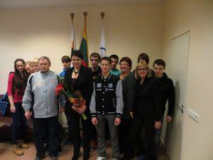Spotkanie w Litewskim Narodowym Komitecie Olimpijskim Fot. archiwum
