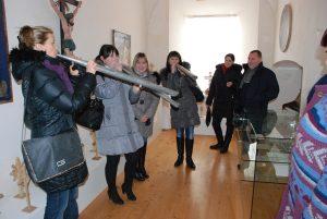 Zajęcia edukacyjne w muzeum w Worniach