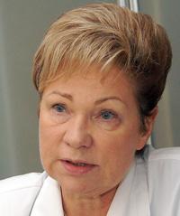 Dyrektorka Domu Narodzin Kornelija Mačiulienė Fot. Marian Paluszkiewicz