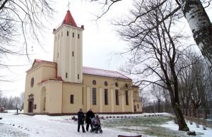 Kościół pw. Królowej Pokoju w Nowej Wilejce Fot. Marian Paluszkiewicz
