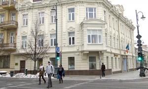 Znaną i uczęszczaną przez inteligencję wileńską była kawiarnia Rudnickiego na rogu ulicy A. Mickiewicza i Arsenalskiej Fot. Marian Paluszkiewicz