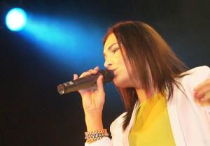 Greta Buzarewicz udowodniła, że potrafi śpiewać Fot. Marian Paluszkiewicz