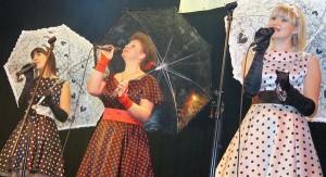 """Występ """"Trio z Połukni"""" został ciepło przyjęty przez publiczność  Fot. Marian Paluszkiewicz"""