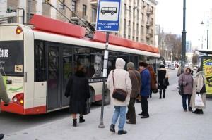 Spółki transportu publicznego w Wilnie z powodu zadłużenia znajdowały się o krok od bankructwa Fot. Marian Paluszkiewicz