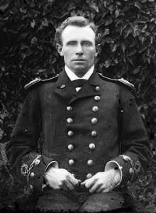 Aleksander Waścicki w dniu uzyskania pierwszego stopnia oficerskiego, lato 1886