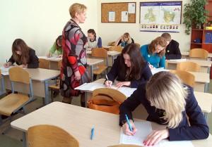 Uczniowie 11 i 12 klas pochylili się nad interpretacją utworów Szymborskiej, Norwida, Konwickiego, Herberta i Syrokomli Fot. Marian Paluszkiewicz