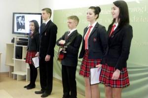 W olimpiadzieudział wzięło26 uczniów z 18 szkół rejonuwileńskiego