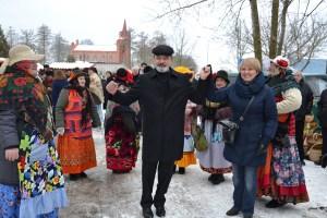 ISekretarz Ambasady Ukrainyw RLWołodimir Bigunwraz z małżonką bawli się na całego