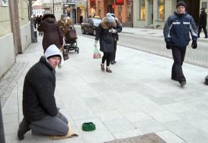 Według Eurostatu, ponad 33 proc. mieszkańców Litwy żyje na granicy ubóstwa.