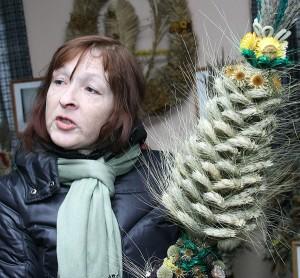 Etnograf Janina Norkūnienė o palmach może opowiedzieć bardzo dużo. Jest też autorką edycji o plamach, która się ukazała w roku 2010 Fot. Marian Paluszkiewicz