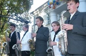 Instrumentaliści ze Szkoły Sztuk Pięknych im. St. Moniuszki w Solecznikach też wezmą udział we wspólnym koncercie Fot. Marian Paluszkiewicz