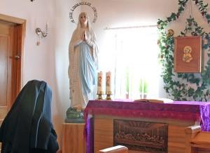 O 5.55 rano siostry są już na modlitwie Fot. Marian Paluszkiewicz