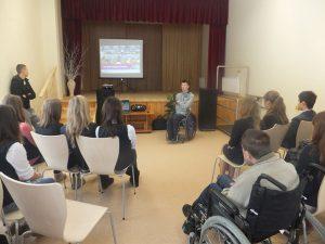 Jarek mówił o niepełnosprawności, odpowiadał na pytania, żartował