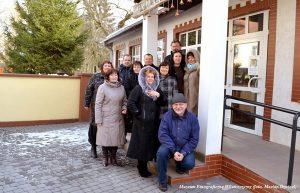 Delegacja z Niemenczyna zwiedziła Muzeum Kultury Ludowej w Węgorzewie, z którym goście współpracują od lat