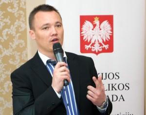 Tomasz Sadzyński przedstawił zasady funkcjonowania SSE Fot. Marian Paluszkiewicz