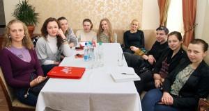 W konferencji uczestniczyli studenci Filii Uniwersytetu Białostockiego w Wilnie Fot. Marian Paluszkiewicz