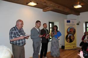Uczestnicy zaprezetowali utwory Wł. Syrokomli w czterech językach: polskim, białoruskim, litewskim i rosyjskim    Fot. O. Silko