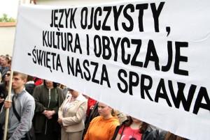 Niepokojącą jest także Ustawa o Oświacie      Fot. Marian Paluszkiewicz