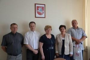 W składzie delegacji były: Ewa Burdek, dyrektor Gminnego Ośrodka Pomocy Społecznej,Krzysztof Jas, dyrektor Gminnego Ośrodka Kultury i Sportu.