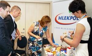 W Wilnie ruszyła kampania reklamowa polskich wyrobów mleczarskich Fot. Marian Paluszkiewicz