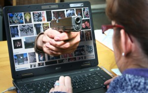 Około połowa litewskich instytucji państwowych jest bezbronna przed atakami w cyberprzestrzeni Fotomontaż Marian Paluszkiewicz