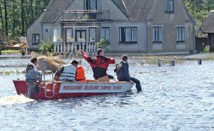 W 2005 roku, gdy na Litwie była powódź, na metr kwadratowy spadło 200-230 litrów wody Fot. Marian Paluszkiewicz